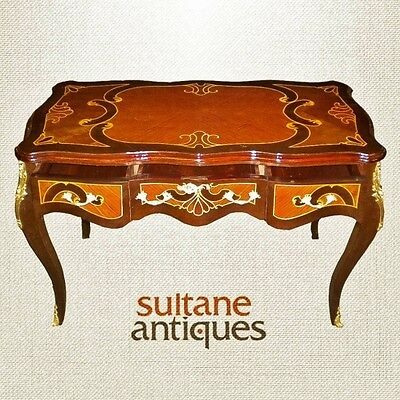 High Quality marquetry Louis XV style Lady's desk