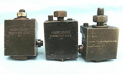 Lot of 3 Hardinge Lathe  Tool Holders  two D4 and one D5