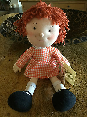 """New FAO Schwarz Little Red Chances For Children Doll 16"""" - What a Cutie!"""