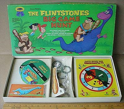 The Flintstones Big Game Hunt No. 4801, Hanna-Barbera Productions ©1962, Whitman
