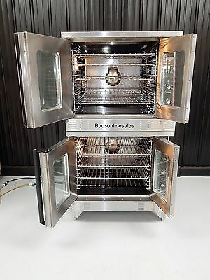 Garland Master 200 Gas Commercial Double Convection Oven Bakery Pizza