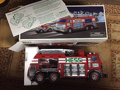 2005 Hess Truck Emergency Fire Truck With Rescue Vehicle