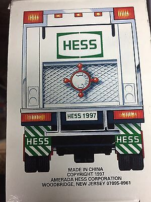 Vintage Hess 1997 truck new in box Free Shipping