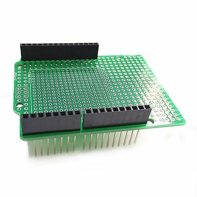 Prototype PCB for Arduino UNO R3 Shield Board DIY, Combo 2mm + 2.54mm Pitch Hot