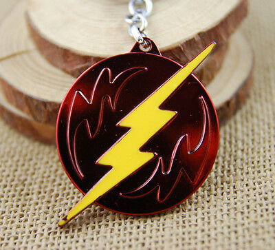 DC The Flash Shield Movie Teleplay Metal Alloy Keychains Collectibles Key Ring
