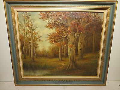 """20x24 original oil painting on canvas by Emil Hermann 1900-1949 """"East Texas"""""""