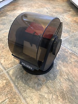 Vintage Rolodex Covered Rotary Swivel File SW-24C USA Card Address Phone