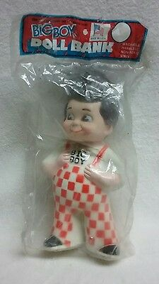 "Vintage 1973 BIG BOY Restaurant 9"" DOLL BANK MARRIOTT CORP"