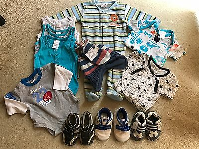 Baby Boys Size 000 Mixed Bundle (11x  pieces) *VGC*