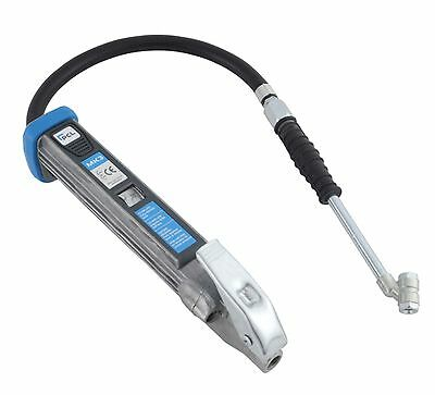 """PROFESSIONAL GAUGE HD TIRE INFLATOR +21"""" air hose/chuck 0-178psi (CHECK VIDEO)"""