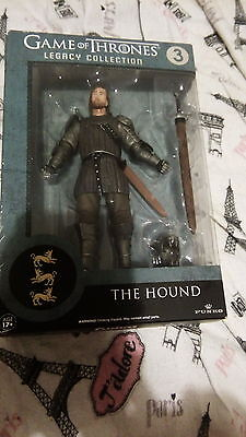 GAME OF THRONES Legacy Collection, The Hound Funko Action Figure NEW NIB