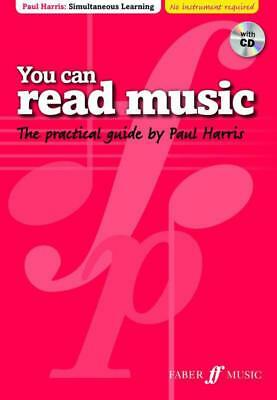 You Can Read Music Book & Cd