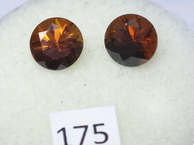 Natural Australian ZIRCON      2.48cts  ID# 175  (Lot of 2)