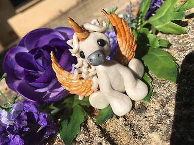 Unicorn Polymer Clay Collectible Horse/Pony