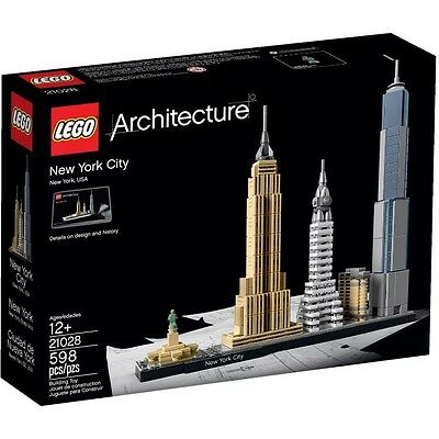 LEGO Architecture New York City Brand New (#21028)