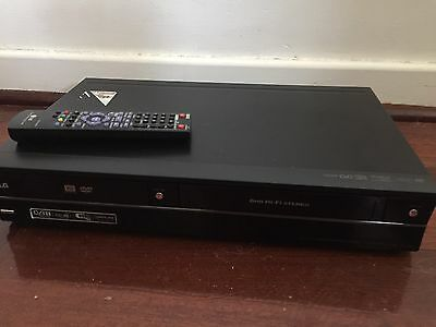LG RC689 Combo VCR + DVD Recorder Video Player Copy DUB VHS HDMI Remote Include