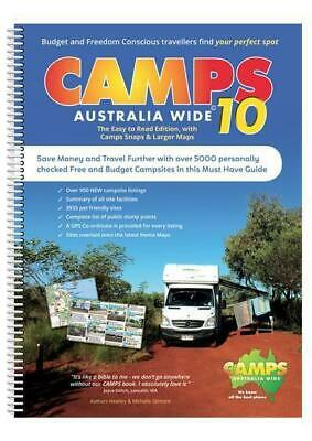 Camps 9 Camps Australia Wide Spiral Bound 2017 - Latest Edition