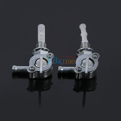 New 2x Motorcycle ATV Quad Gas Petrol Fuel Tank Switch Tap Petcock Valve Durable