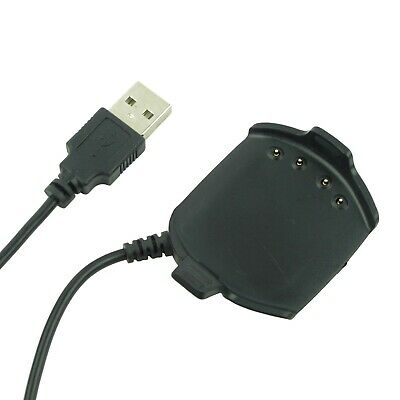 USB Charging Charger Cable Sync Data Clip for Garmin Approach S2 S4 GPS Watch 1M
