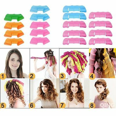 Hair Curlers 30/45/50/55 CM Magic DIY Tool Styling Rollers Spiral Circle Sticks