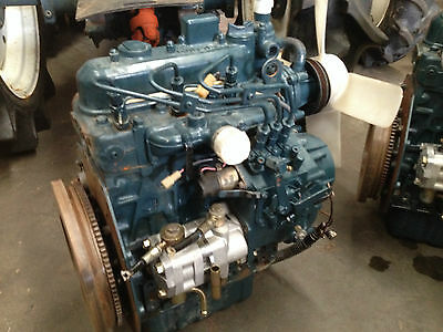 Good used Kubota diesel engine D1005, 27hp 3-cylinder long motor, in Sydney