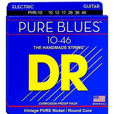 Dr Phr-10 Pure Blues Electric Guitar Strings 10-46 9126