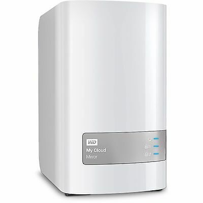 HARD DISK ESTERNO NAS Western Digital My Cloud Mirror 8TB