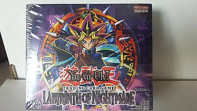 YU-GI-OH LABYRINTH OF NIGHTMARE USA 1ST EDITION 24 count BOOSTER BOX