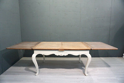 Vintage Extending French Dining Table/ Shabby Chic (BR249)
