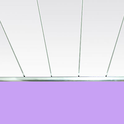 Gloss White Chrome Bathroom Cladding Kitchen Ceiling Panels Shower Wet Wall PVC