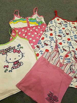Girls Clothing  Hello Kitty x 4 Pre-Owned Excellent Condition