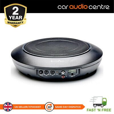 Kenwood KSC-SW11 COMPACT UNDERSEAT ACTIVE SUBWOOFER WITH REMOTE AND WIRING KIT