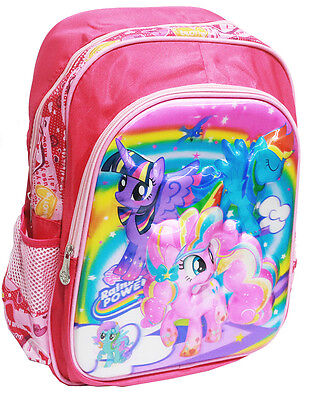 New Large Kids Backpack School Bag Preschool My Little Ponny Girls Daycare Gift