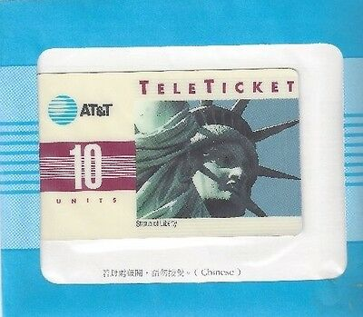 TK (4) AT&T 10u Statue of Liberty (Group 3 = 'MN' Over Barcode) Chinese
