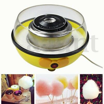 Cotton Candy Maker Machine Floss Commercial Carnival Party Fluffy Sugar 110/220V