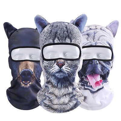 Animal Balaclava Full Face Mask Outdoor Cycling Anti-Dust Head Hood Helmet Prope