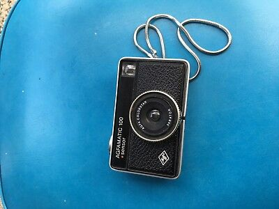 Agfamatic 100 126 Film Camera With Strap Free Post