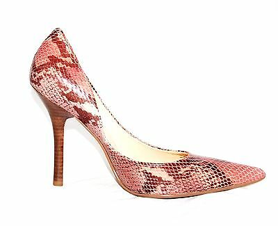 New Guess Pumps/Heels By Marciano Carrie7 Leather Upper Snake Print  Size 9.5