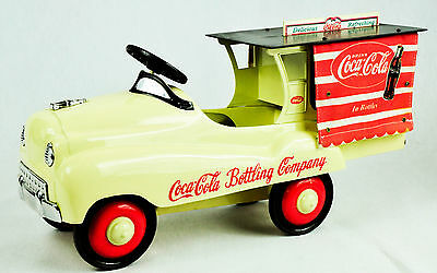"Coca Cola, Deluxe Delivery Truck ""Pedal Vehicle"" 1:3 Scale Die Cast Metal, Limit"