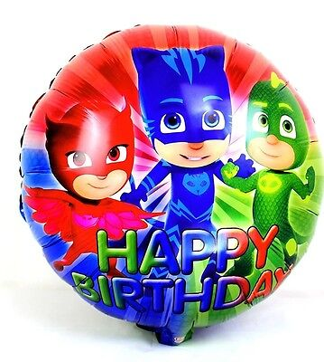 1 x PJ MASK FOIL BALLOON (45cm x 45 cm) PJ MASK PARTY SUPPLIES