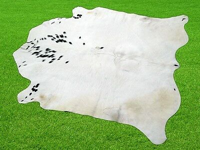 """New Cowhide Rugs Area Cow Skin Leather 13.13 sq.feet (45""""x42"""") Cow hide MB-563"""