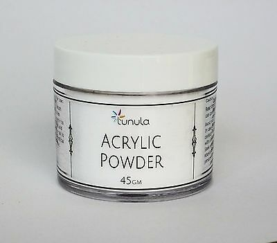 45g Acrylic Powder - CRYSTAL CLEAR