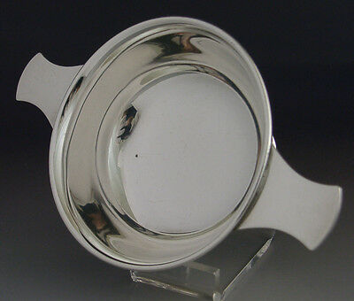 Superb Decent Size Sterling Silver Whisky Quaich Sheffield 2000