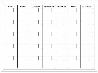 24x18 large monthly dry erase calendar wall calendar monthly
