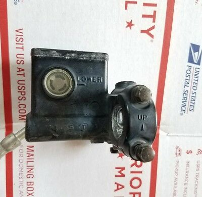 Brembo RCS 19 FRONT Brake Master Cylinder 19RCS with Brembo FOLDING LEVER