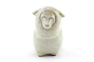A vintage studio pottery sheep 1950's 60's