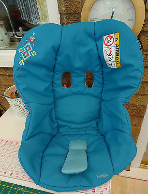 maxi-cosi pebble car seat cover replacement in mosaic blue