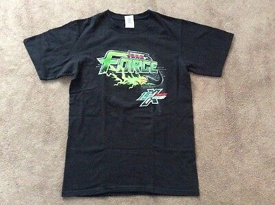 Mens John Force 15 Time Funny Car Champion t shirt sz S. (1-284)