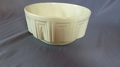 Vintage Haeger Hager Pottery USA 157 Round Bowl Planter Light Green Lime