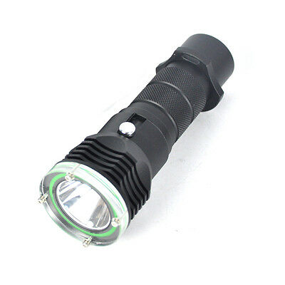 Underwater Diving Flashlight Torch XM-L2 LED Light 18650 Rechargeable Battery JI